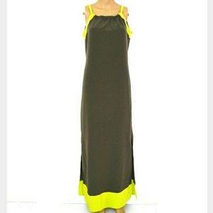 The Limited XS, Neon Trim Olive Maxi